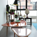 sofabord lyserød fifties