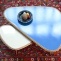 fifties sofabord mørke blå ambiance