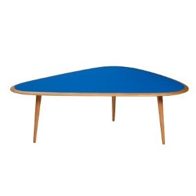 sofabord fifties mørke blå