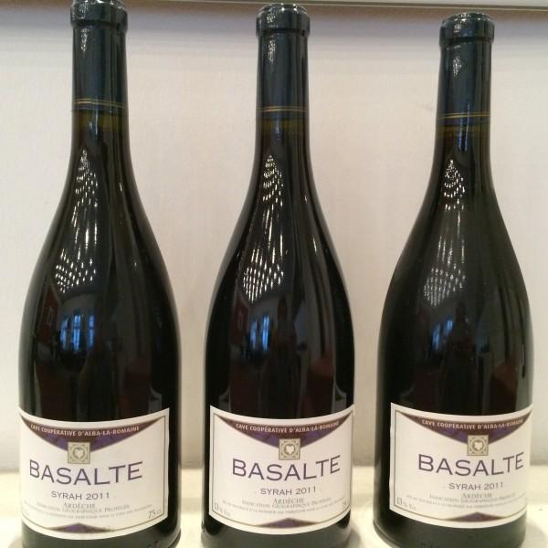 Rødvin, Syrah, Basalt