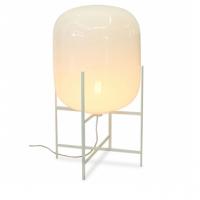 Oda Lampe Medium Hvid:Hvid