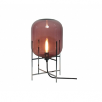 Oda Lampe Small Aubergine:Sort