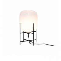 Oda Lampe Small Hvid:Sort