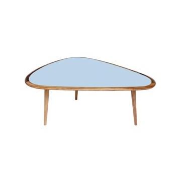 sofabord fifties lyseblå small