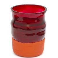 Overlay Vase Rød M