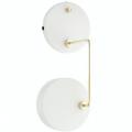 Petite Machine Væglampe Hvid --- Beau Marché