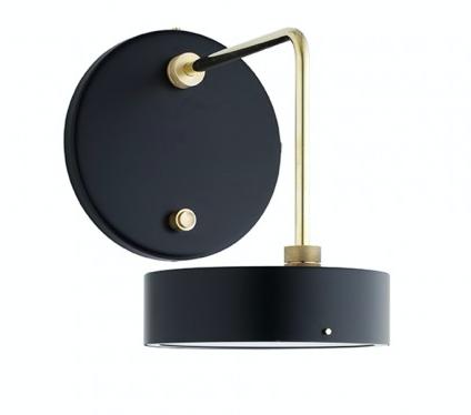 Petite Machine Væglampe sort - Beau Marché