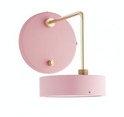 Petite Machine væglampe lyserød - beau marché