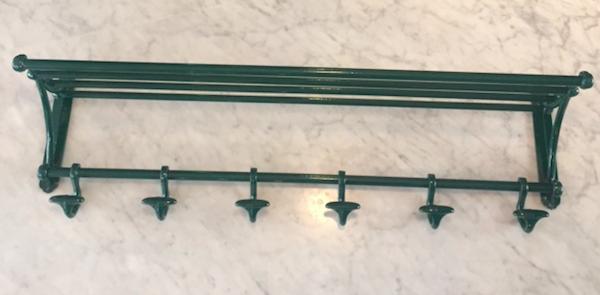 Fransk Knagerække mørkegrøn