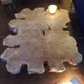 Poplar Coffee Table Symetric 2