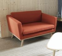 Sofa Velour 120cm