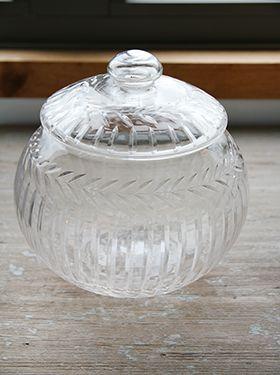 glaskrukke laurbær