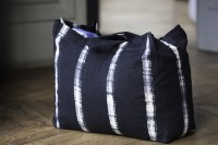 tote bag indigo black