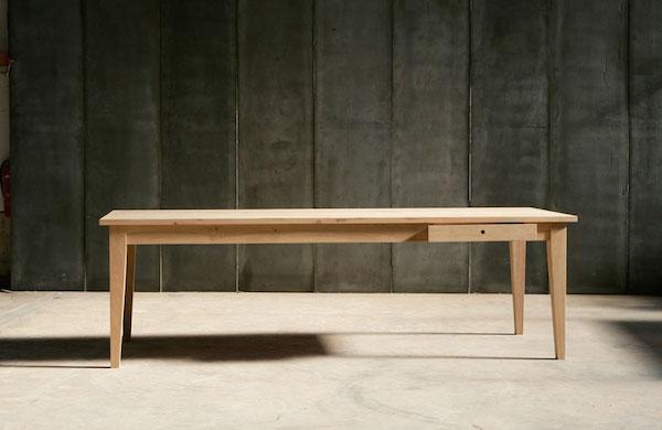 Spisebord egetræ F