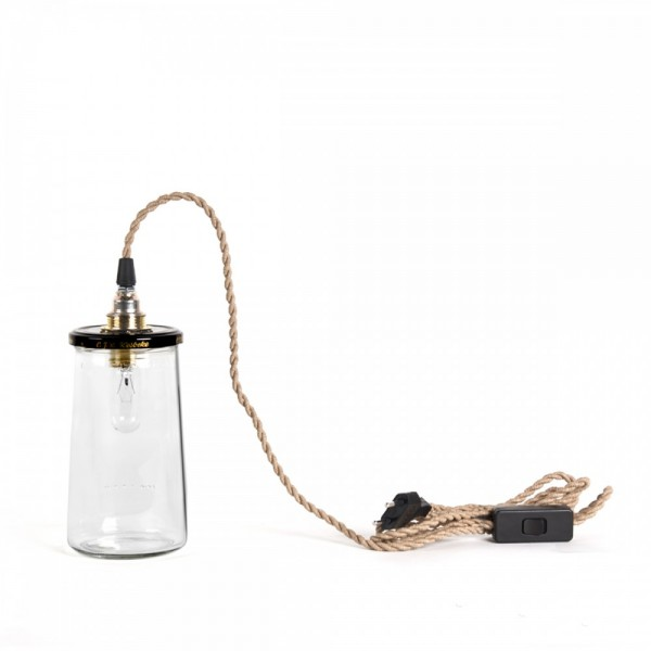 pickle lampe small natural rope