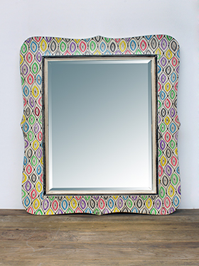 spejl diamant mønster