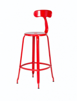 Chaise Nicolle rød H75