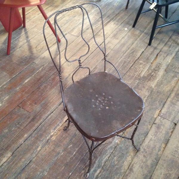 Vintage Metal stol