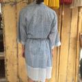 Kimono Blå back