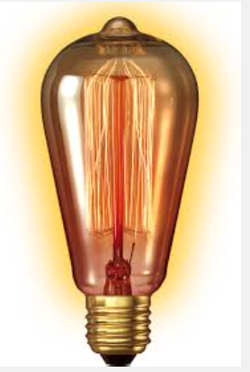 Rustic lamp Gold Large