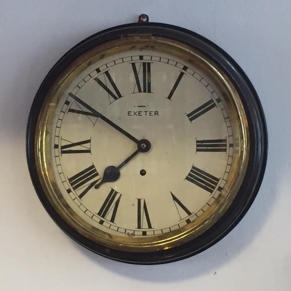 Vintage ur træ
