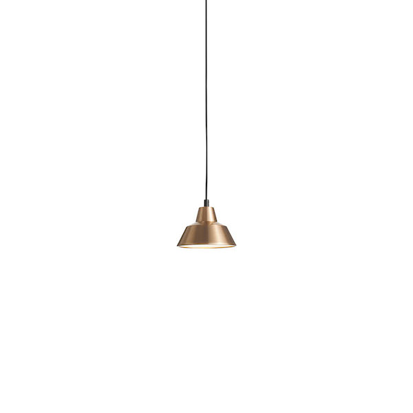 Workshop-lampe_copper white18cm