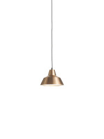 Workshop lampe_copper white 28cm_white