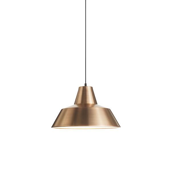 Workshop lamp_copper white 50cm_white