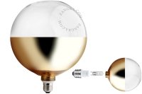 pære bottom gold halogen 42w