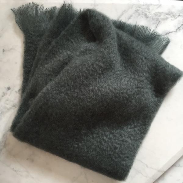 moerkegroen-mohair-sjal