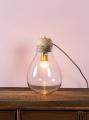 Bordlampe Glas