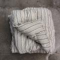 Kapok madras - Sorte striber