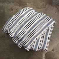 Kapok madras-blå:hvid
