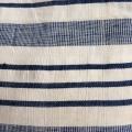 Kapok madras - blå:hvid