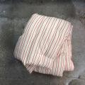 Kapok madras -rød:hvid