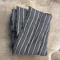 Kapok madras-sort:hvid