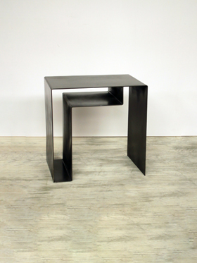 Metal sofabord