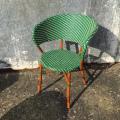Udendørs_caféstol-Rimini-Grøn