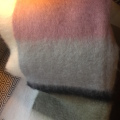 Mohair Plaid 130*200 rosa