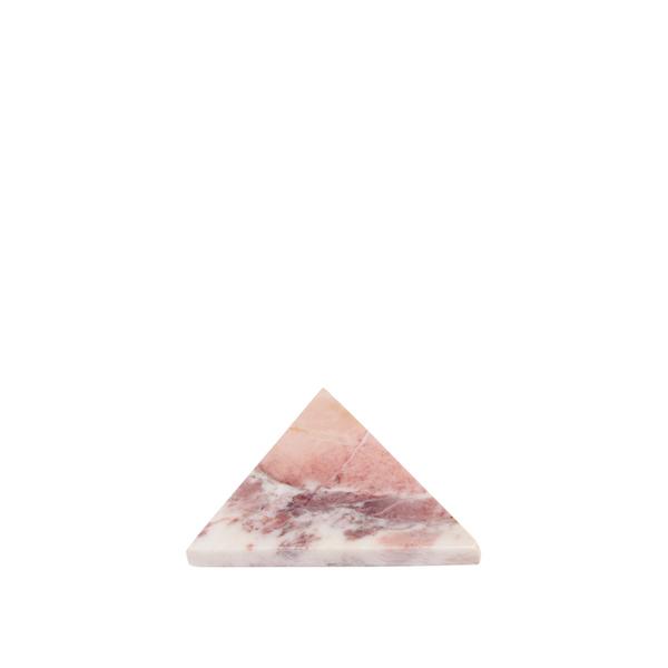 Lyserød marmor skærebræt