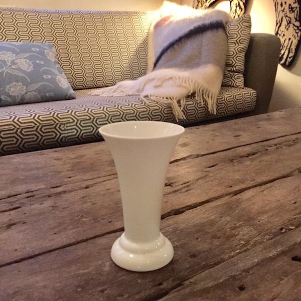 Vase Hvid 1