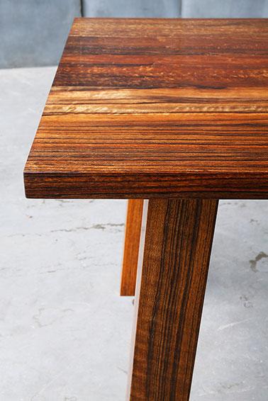 spisebord afrikansk valnød 2