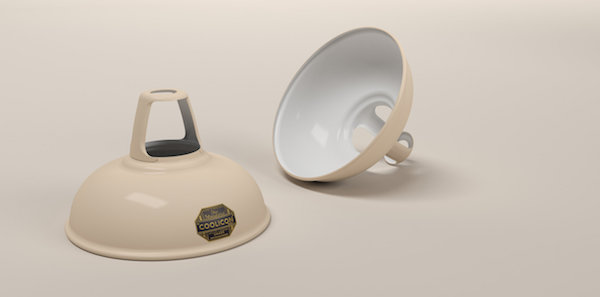 Coolicon-loftlampe-creme