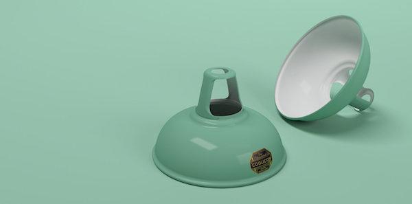 Coolicon-loftlampe-mint