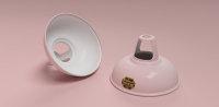 Coolicon-loftlampe-rosa