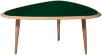 Fifties Bord Small - Deep Green