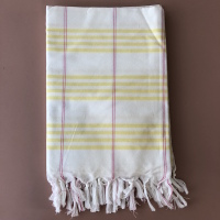 Fouta organic cotton yellow